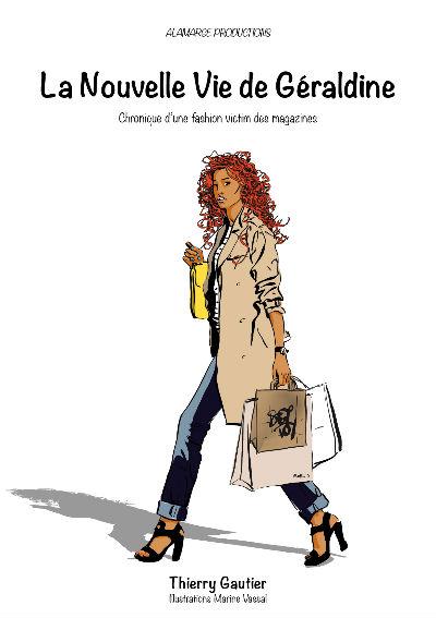 la nouvelle vie de Géraldine couverture recueil