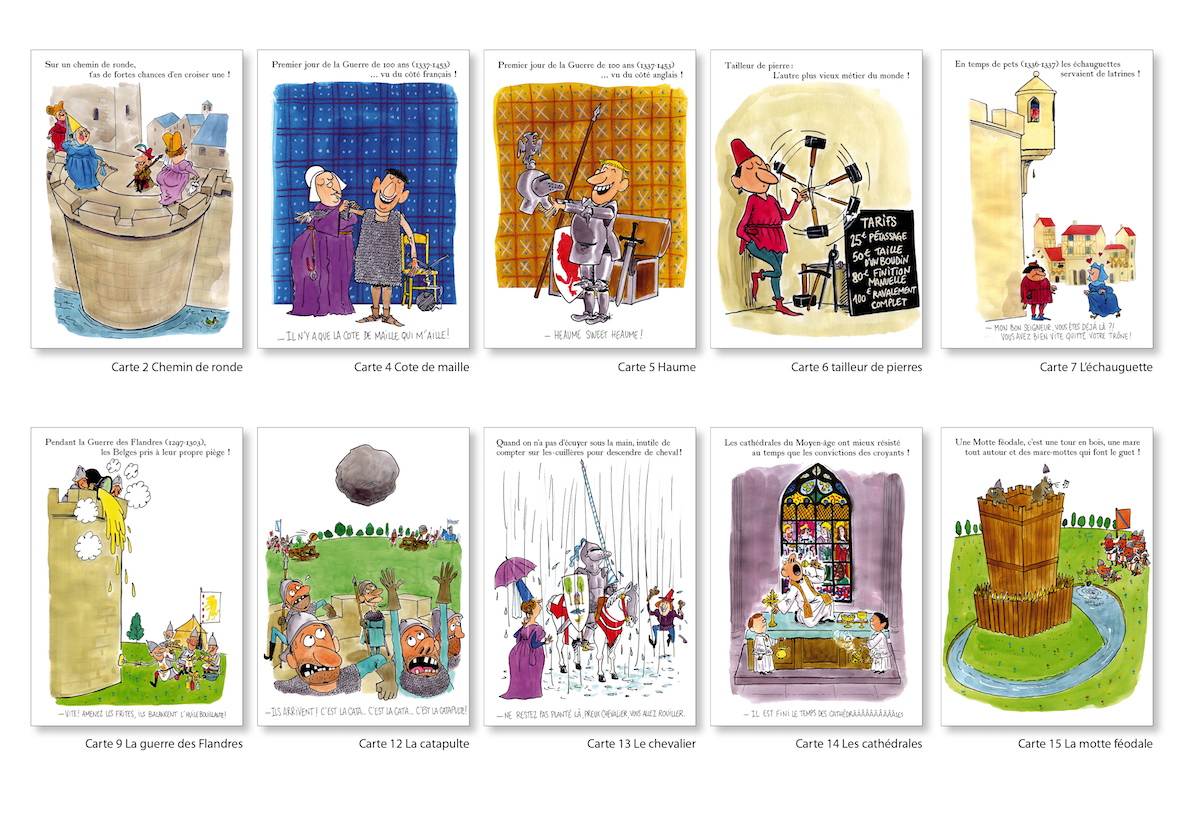 cartes middle age